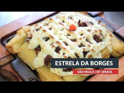 Gastronomia paulista no Estrela da Borges