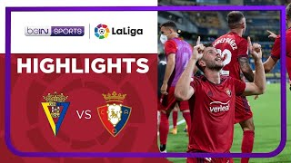 Cadiz 2-3 Osasuna Matchday 3