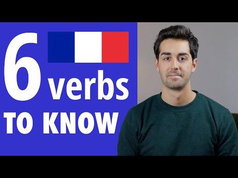 6 nepostradatelných francouzských sloves