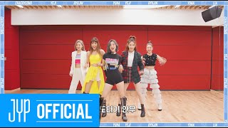 """ITZY """"WANNABE"""" Dance Practice (Part Switch Ver.)"""