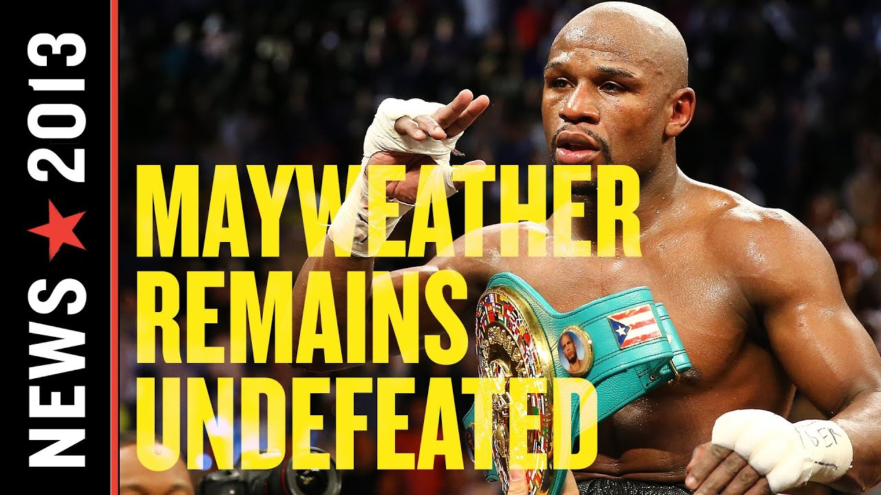 Mayweather vs. Guerrero Results: Floyd Mayweather Remains Undefeated thumbnail
