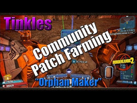 Borderlands 2 | Farming H3RL-E For The Orphan Maker | Community Patch 2 0  Farming - 00TheMessiah00