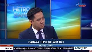 Novita Tandry Live di Metro TV acara Metro Siang topik Bahaya Ibu Depresi   Kasus bayi Calista