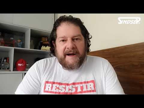 Sergio Antiqueira parabeniza servidores pelo ato do dia 6 e convoca todos e todas para o dia 13 ser ainda maior