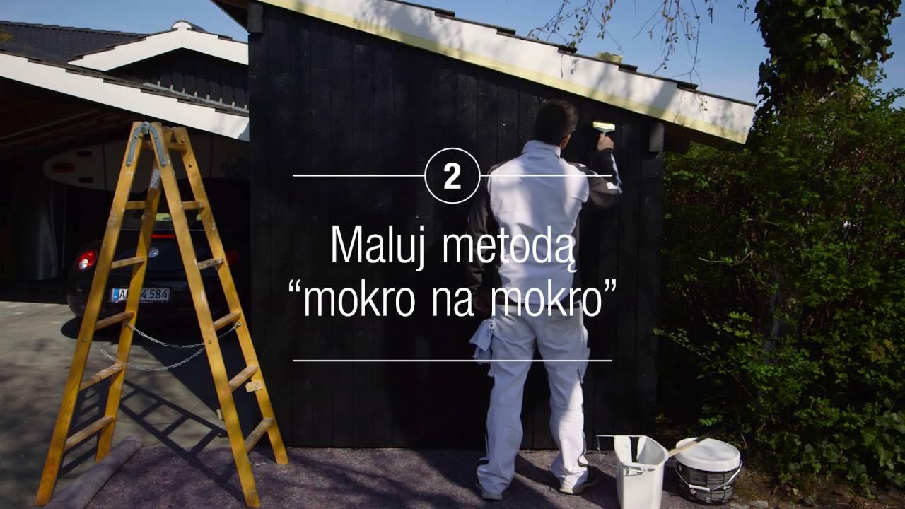 Jak malować stolarkę drewnianą - Flügger uczy i radzi