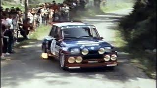 1985 Tour de Corse (Peugeot promo film - French with English subtitles)