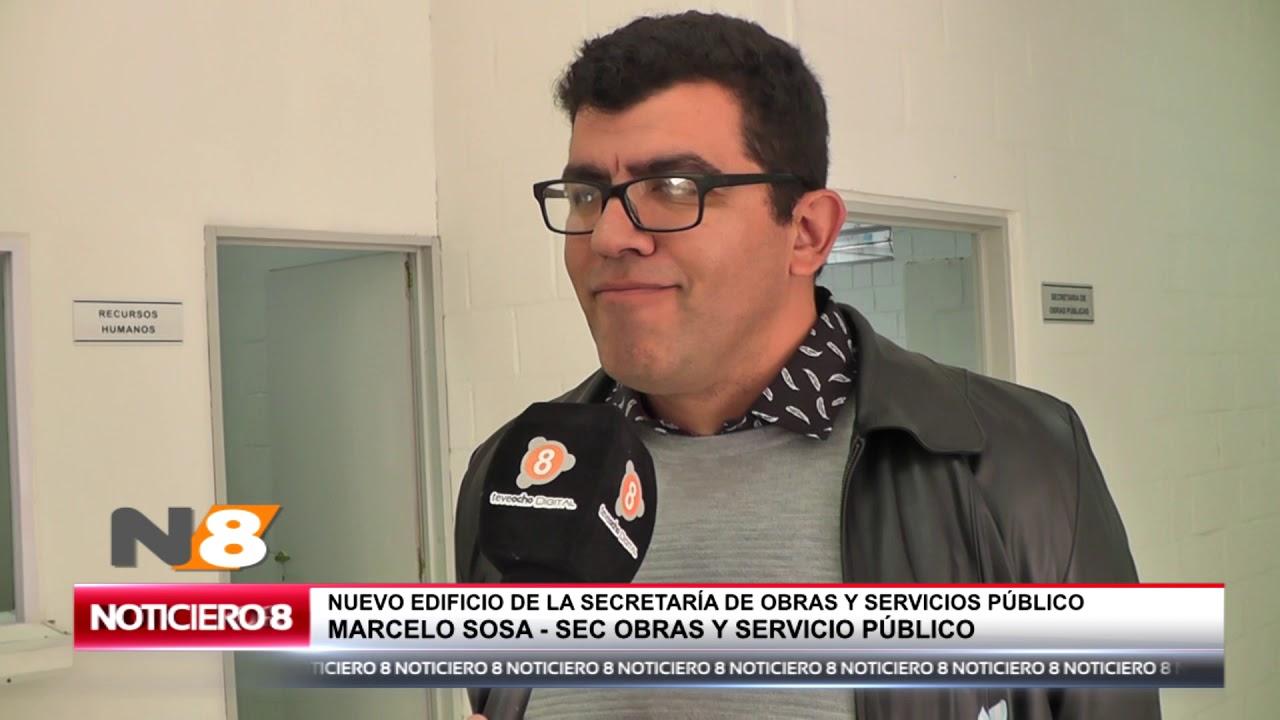 SE INAUGURO EL EDIFICIO DE OBRAS PUBLICAS EN NUESTRA CIUDAD