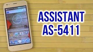 Распаковка Assistant AS-5411 Gold