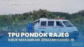 Hari Raya Idul Adha 1442 H, TPU Pondok Rajeg Bogor Tetap Sibuk Makamkan Jenazah Covid-19