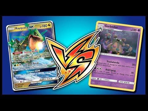 Rayquaza GX vs Buzzwole / Garbodor – Pokemon TCG Online Gameplay