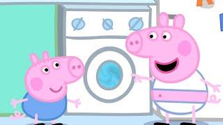Peppa Pig Français   Peppa Pig La Lessive   Dessin Animé