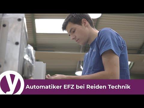 Eine Lehre als Automatiker/in EFZ bei Reiden Technik AG
