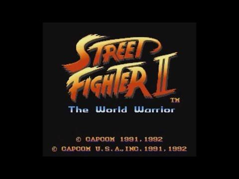 Street Fighter II: The World Warrior (SNES) - Longplay