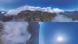 360°, Angel Falls, Venezuela  Aerial 8K video