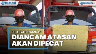 Viral Ungkapkan Dugaan Korupsi Dinas Pemadam Kebakaran Kota Depok, Petugas Diancam Dipecat Atasan