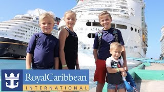 FIRST FAMILY CRUISE VACATION | Royal Caribbean Navigator Of The Seas To Bahamas And CocoCay