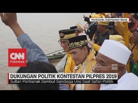 Dukungan Politik Kontestan Pilpres 2019
