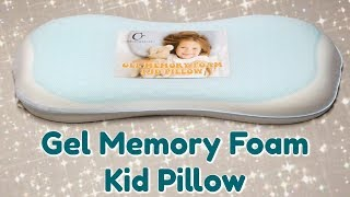 Cooling Gel Memory Foam Toddler Pillow Review!