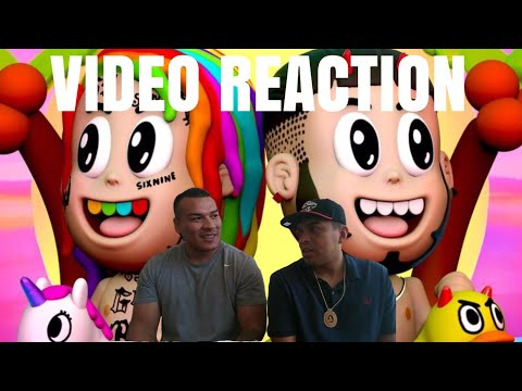 King Bash REACTS TO BEBE - 6ix9ine Ft. Anuel AA (Official Music Video) REACTION
