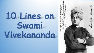Swami Vivekananda ||10 Easy Lines on Swami Vivekananda || National Youth Day