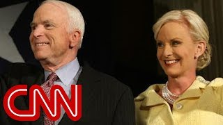 Cindy McCain posts stranger's hateful message about her late husband