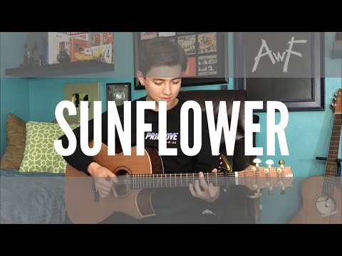 Sunflower - Post Malone / Swae Lee - Cover (fingerstyle Guitar)  Spider-Man: Into The Spider-Verse) Mp3