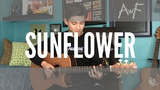 Sunflower   Post Malone  Swae Lee **BUT** It's Played Only On A Guitar