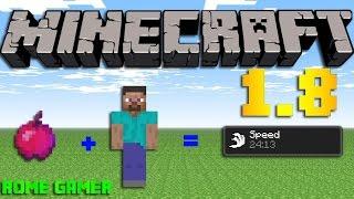Rome Gamer Minecraft 18 สอนทำแอปเปิ้ลแห่งความเร็ว Apple Of Speed