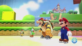 Mario and Sonic at the Sochi 2014 Olympic Winter Games - Mario Stage Medley (Wii U) - dooclip.me