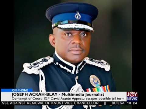 Contempt Of Court - News Desk on JoyNews (25-10-18)