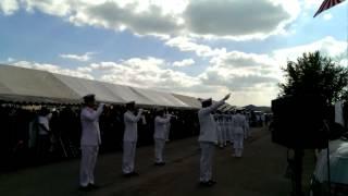 2013年10月6日鶉野飛行場平和祈念祭弔銃斉射