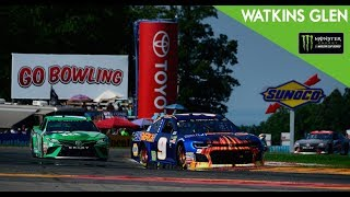 Monster Energy NASCAR Cup Series- Full Race -GoBowling at The Glen