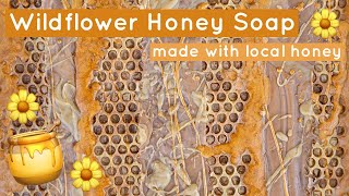 I Made Cold Process Soap With Local Honey (and You Can Too, Its Easy) | Royalty Soaps