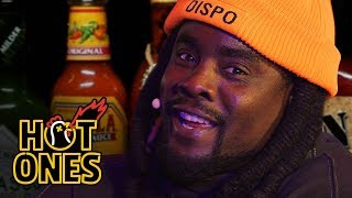 Wale Battles Spicy Wings LIVE | Hot Ones
