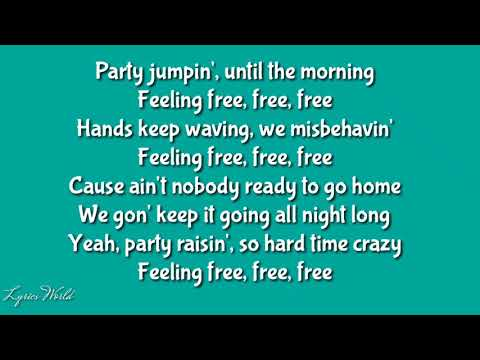 Pitbull-Free Free Free Ft.Theron Theron (lyrics)