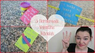 Quick & Easy Homemade Valentines