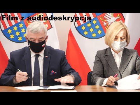Wsparcie Samorządu Województwa dla Zakładów Aktywności Zawodowej. Audiodeskrypcja