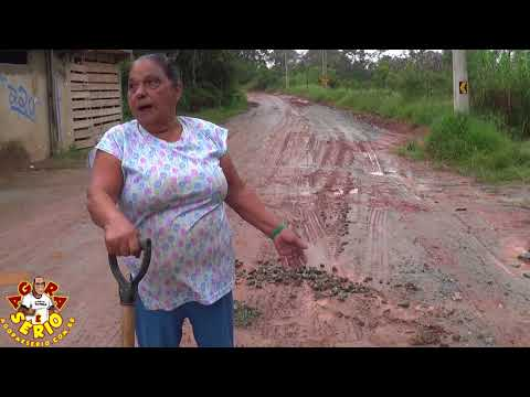 Moradora do Morro do 72 faz oque deveria ser feito pelo Consórcio Construtor São Lourenço