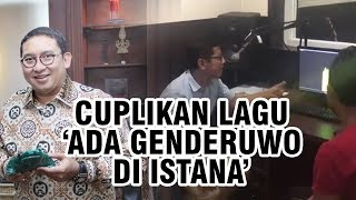 Puisi Fadli Zon 'Ada Genderuwo di Istana' Diangkat Jadi Lagu, Ini Video Cuplikannya