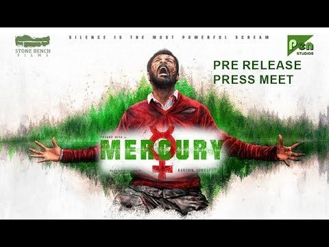 Mercury Movie Team Pre Release Press Meet
