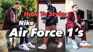 HOW TO STYLE NIKE AIR FORCE 1'S IN 2020 - NIKE AIR FORCE 1 LOOKBOOK