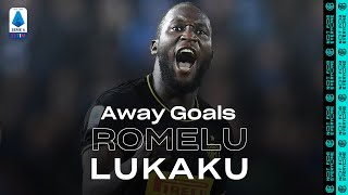 ROMELU LUKAKU | EVERY SERIE A TIM AWAY GOAL | A EUROPEAN RECORD 🔥⚫🔵🇪🇺