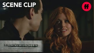 Shadowhunters | Season 2, Episode 1: Clary & Simon's Together Time | Freeform