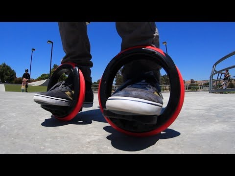 SELF-PROPELLED ORBITWHEEL SKATES?!