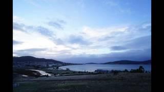 Autumn sunrise at North Bay Subdivision
