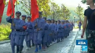 """China: Welcome to """"Red Culture Camps"""", aimed at igniting communist spirit in younger generations"""
