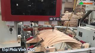 Máy làm mộng âm cnc gia công được biên dạng cong phức tạp   Woodmaster