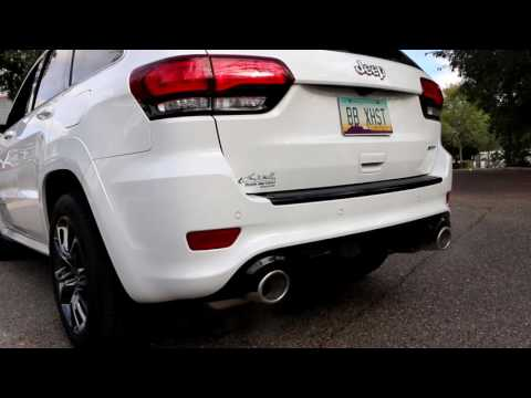2015-2016 Jeep Grand Cherokee SRT – Billy Boat Exhaust Install & Drive Off