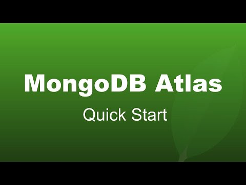 How to create a free cluster in MongoDB Atlas?