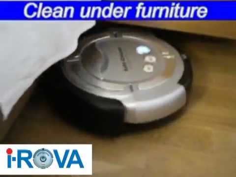 iROVA A7 Robot Vacuum Cleaner with Auto Charge